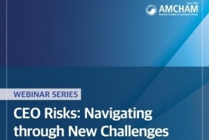 AMCHAM CEO Risks: Navigating through New Challenges Webinar